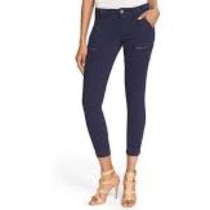 Joie Park Skinny navy cargo style jeans pants